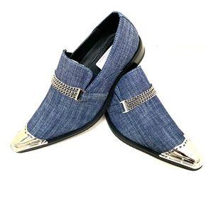 Denim shoes for men